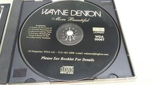 Wayne Denton - More Beautiful CD