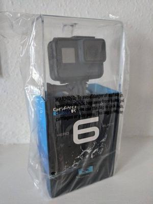 GoPro Hero 6 Action Camera Black Brand New Box Sealed