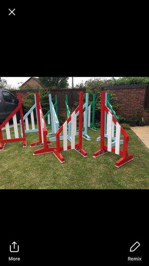 Showjumping wings for sale, sold in sets of 4 wings