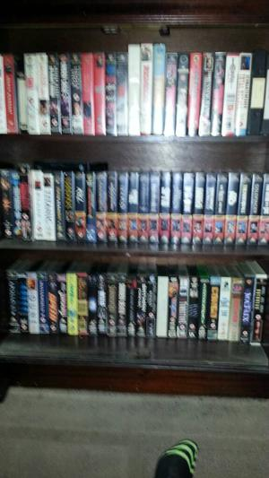 Vhs tapes approximately 250