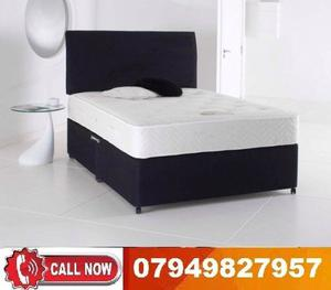 NEW OFFER BRAND NEW DOUBLE DIVAN BASE ORTHOPAEDIC MEMORY FOAM AVAILABLE