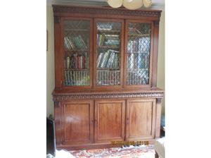 William !V Large Mahogany Bookcase in Lowestoft