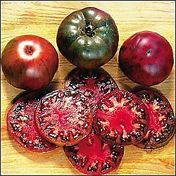 Premier Seeds Direct ORG107 Tomato Black Krim Organic Seeds