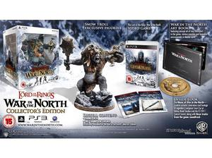 ps3 lord of the rings war in the north collectors edition in