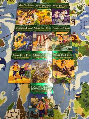 Magic tree house book - children books x 10