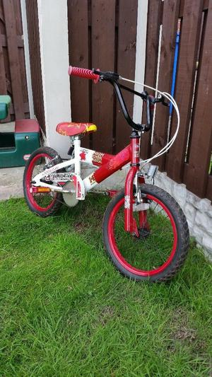 "bike 16"" in excellent condition only £25 can deliver for a small charge"