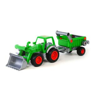 Polesie Wader Tractor with Loader and Skip 58x14.5x16.5 cm