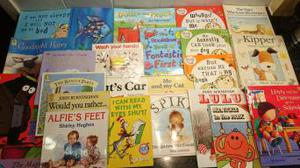 Big collection of bedtime books