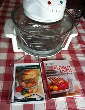 COOPERS HALOGEN 12L SELF CLEAN OVEN INCLUDING LOTS OF EXTRAS