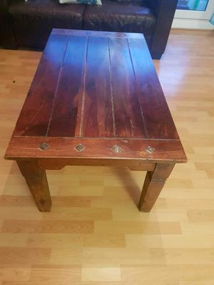 """Solid wood coffee table from """"the pier"""""""