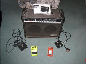 crate G40C XL stereo chorus amplifier in Paignton