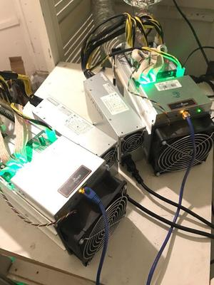 2 Bitmain Antminer S9 + PSU 13.5TH