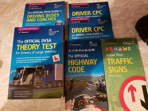 Official DVSA - PCV Driver Theory Books