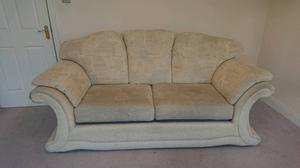 sofa settee suite with two arm chairs