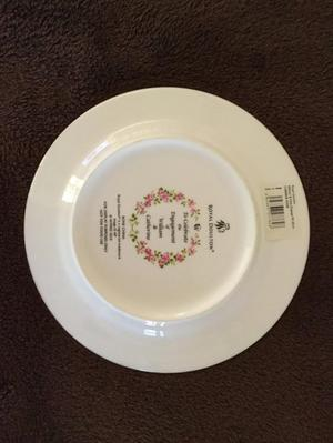 William & Catherine engagement plate