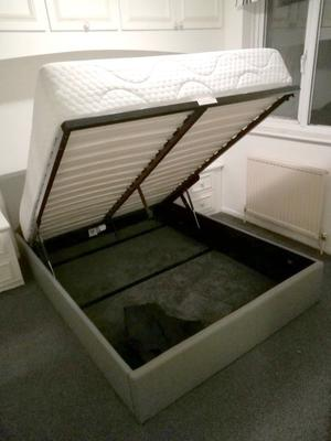 DOUBLE BED FRAME AND MATTRESS - Good Condition / Second Hand