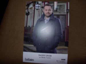 Danny Dyer Eastenders Cast Card NEW Human Traffic