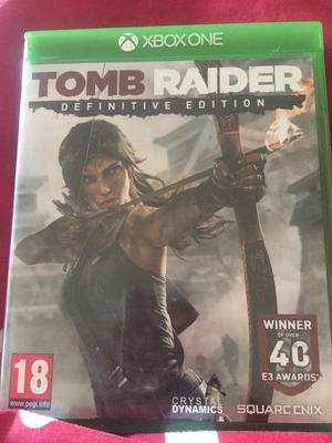 XBOX ONE Tomb Raider- Definitive Edition