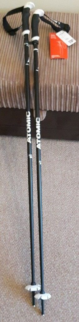 Atomic AMT SQS Men's Ski Poles (120cm) - Brand New with Tags