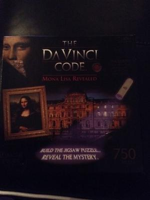 The Da Vinci Code jigsaw puzzle - Mona Lisa revealed