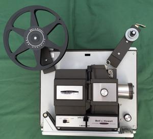 Bell & Howell 456 Double8 / Super8 Cine Film Projector, Used, Working