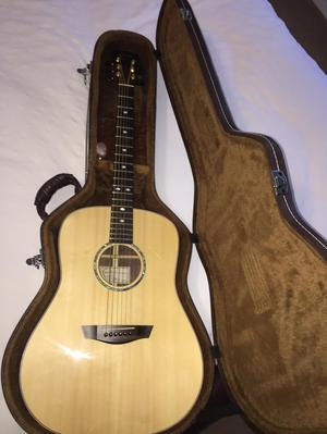 Faith fshg solid rosewood acoustic guitar