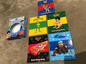 Disney Story Books Set - Almost new - Toy Story - Cars - UP- Jungle Book - Peter Pan