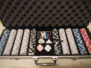 professional poker chips x 500 in case