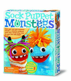 "4M ""Monsters"" Sock Puppet (Multi-Colour)"