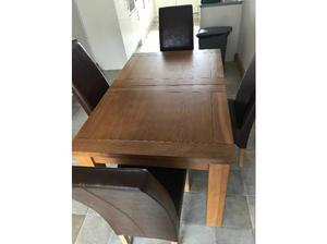 Dining table & 4 chairs in Doncaster