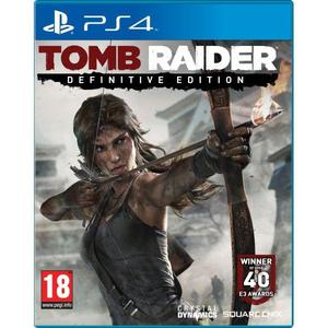 LIKE NEW!! Tomb Raider Definitive Edition- PS4