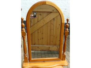 Solid Pine Dressing Table Mirror in Cromer