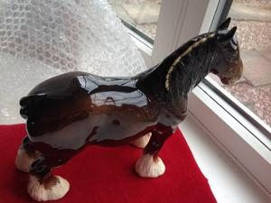 Beswick Shire Horse Large Size in perfect condition