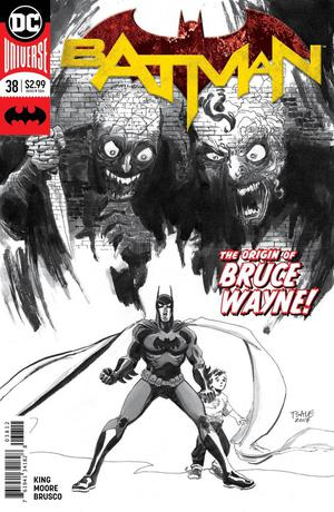 BATMAN #38 2ND PRINT DC COMICS ORIGIN OF BRUCE WAYNE! COIPEL