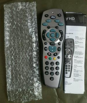 BRAND NEW SKY + PLUS HD REMOTE CONTROL  REV 9f REPLACEMENT