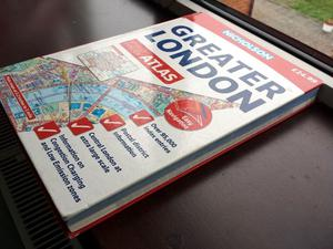 Nicholson's Greater London Road Atlas (Street Finder) (Hardback) (480 Pages)