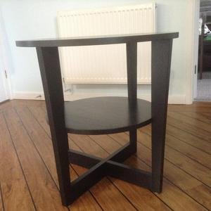 A 2 tier side table