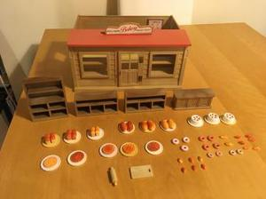 Vintage Sylvanian Families Bakery and accessories