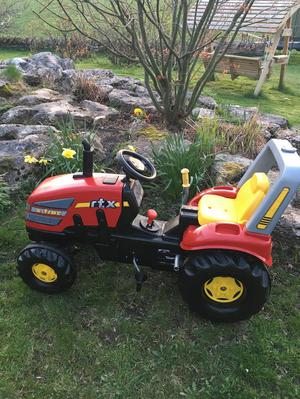 Rolly large ride on tractor