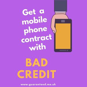 Get A Mobile Phone Contract, Without A Credit Check TODAY!!