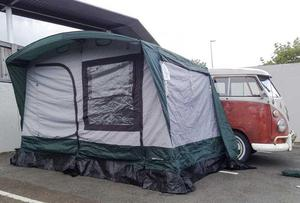 Retro style Spacemaker 4 berth drive away awning
