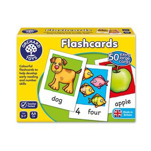 Orchard Toys Educational Flash Cards Game For Baby Toddler