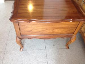 Mahogany Bedside Cabinet in Queen Anne Style