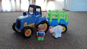 Happyland ELC tractor with trailer