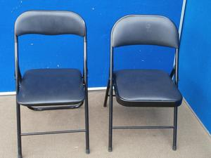 Foldable chairs (Delivery)