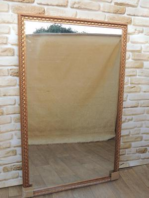 Mirror with Crafted Rosegold Frame XL (Delivery)