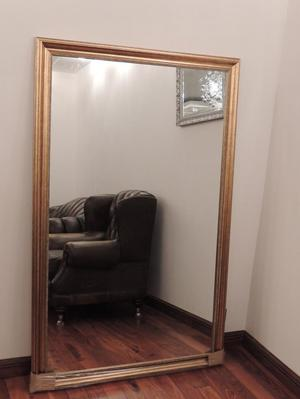 Xtra Large Gold Mirror (Delivery)