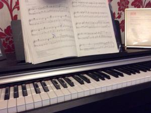 Yamaha digital piano YDP142. Just over one year old. Beautiful piano sound.
