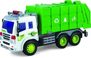 Toy Rubbish Truck For Boys (With Lights & Sound) – Push