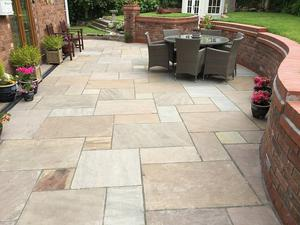 Indian sandstone paving project packs